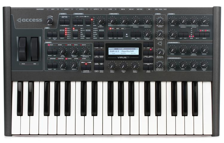Limited Edition Virus TI2 Dark Star 37-Key Multi-timbral Synthesizer
