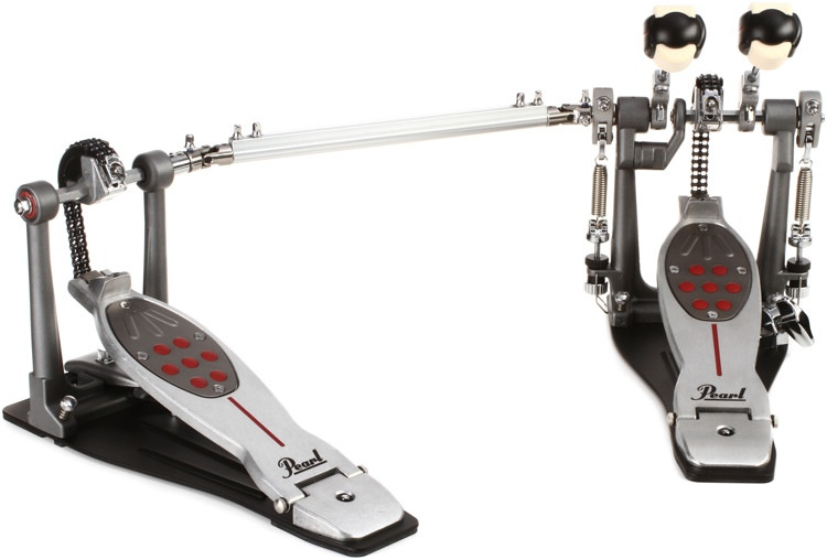 Pearl Eliminator Redline Double Bass Drum Pedal - Chain Drive image 1