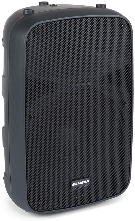 samson auro x15d 1000w 15 powered speaker sweetwater. Black Bedroom Furniture Sets. Home Design Ideas