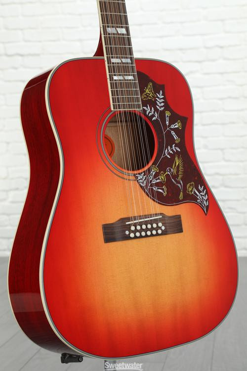 gibson acoustic gibson hummingbird 12 string acoustic heritage burst heritage burst sweetwater. Black Bedroom Furniture Sets. Home Design Ideas