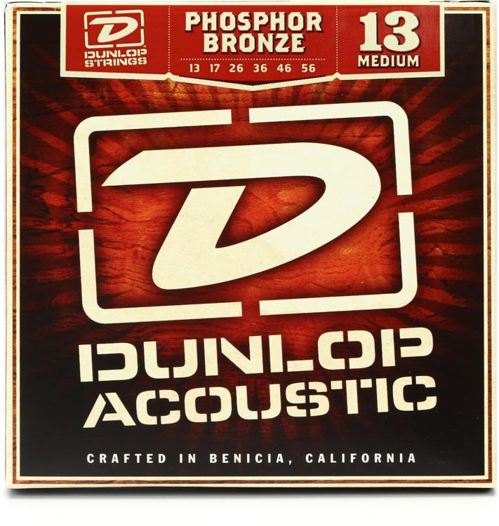 Dunlop DAP1356 Phosphore Bronze Medium Acoustic Strings image 1