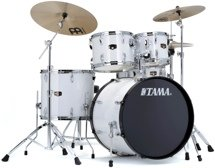 Tama 2016 Imperialstar Complete Drum Set - 5-piece - Sugar White