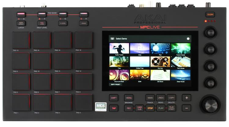 MPC Live Standalone Sampler and Sequencer