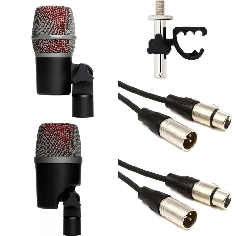 se electronics vbeat vkick 2 piece drum mic package sweetwater. Black Bedroom Furniture Sets. Home Design Ideas