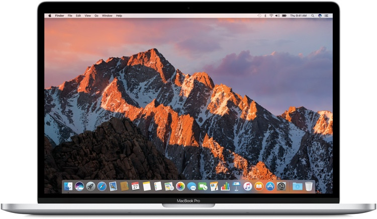 Apple MacBook Pro 15-inch with Touch Bar - 2.6GHz Quad-core Intel Core i7, 256GB - Silver image 1