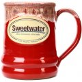 Sweetwater Ramsey Mug - Red with Sand White