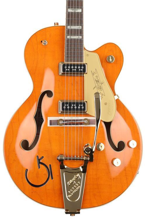 Gretsch G6120T-55GE Vintage Select 1955 Chet Atkins - Western Orange Stain, Bigsby image 1