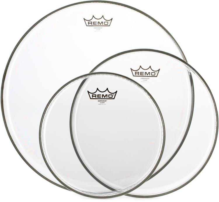 Remo Emperor 3-piece Tom Pack 10