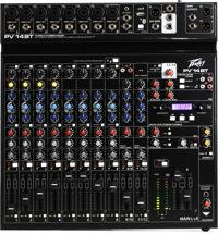 Peavey PV 14 BT Mixer with Bluetooth and Effects