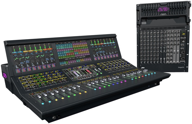 Avid VENUE S6L System with S6L-24D Control Surface and E6L-192 Engine image 1
