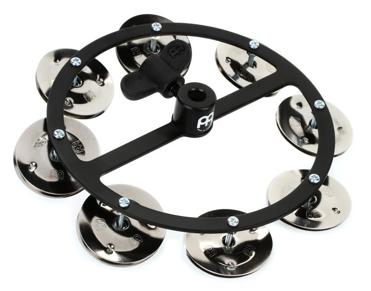 Meinl Percussion Headliner Series Hi-Hat Tambourine - Black image 1