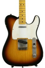 LsL Instruments T-Bone with Ash Body - Lightly Aged 2-tone Sunburst