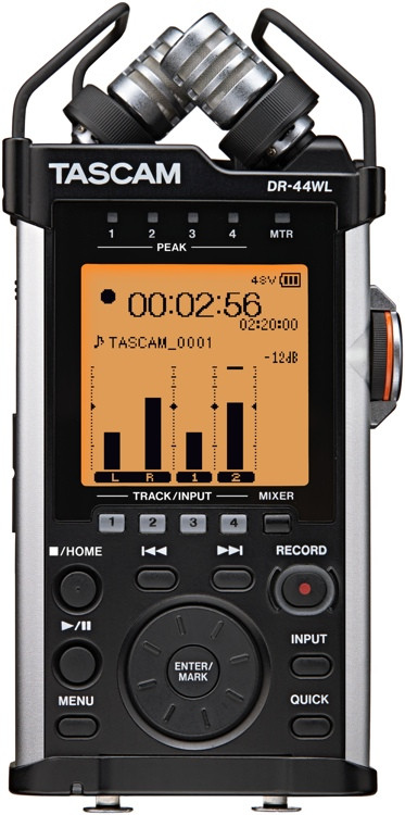 TASCAM DR-44WL Portable Recorder with Wi-Fi image 1