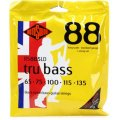 Rotosound RS885LD Tru Bass 88 Black Nylon Tapewound Long Scale 5-String Bass Strings