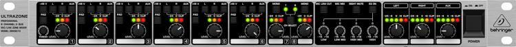 Behringer Ultrazone ZMX8210 Rackmount Zone Mixer image 1
