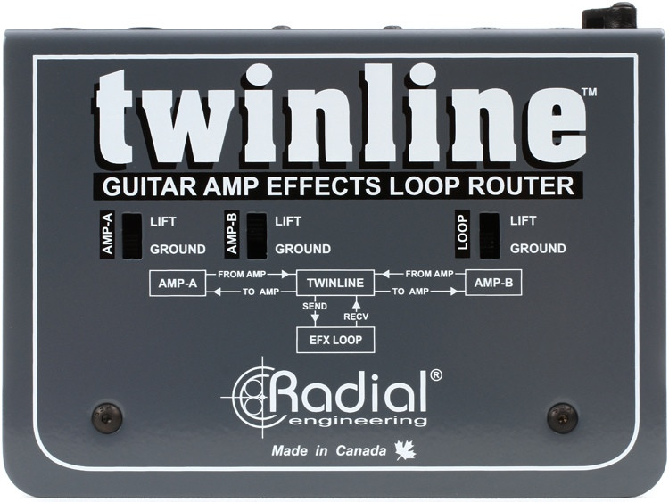 Radial Twinline Effects Loop Interface image 1
