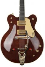Gretsch G6122T-62GE Vintage Select Country Gentleman - Walnut Stain, Bigsby