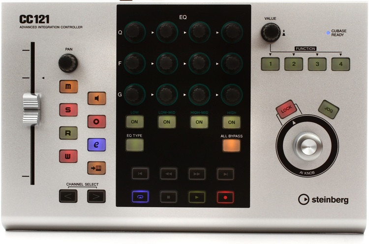 Steinberg CC121 Control Surface for Cubase image 1