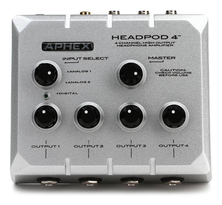 Aphex HeadPod 4 4-Ch Headphone Amplifier image 1