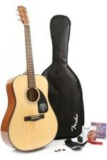 Fender DG-8S Acoustic Guitar Pack - Natural