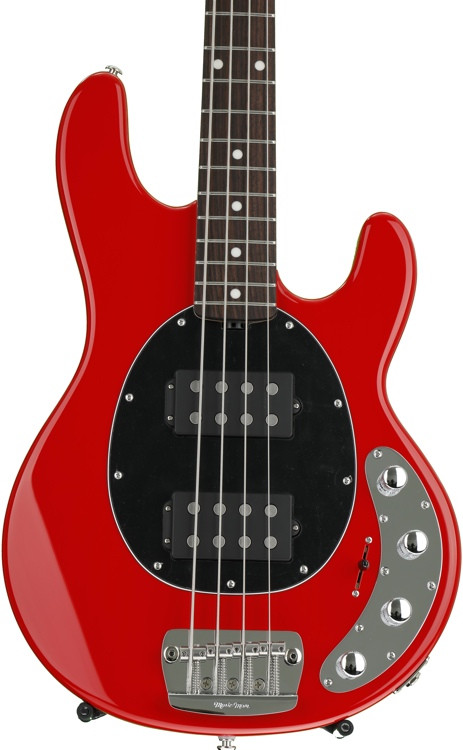 ernie ball music man stingray 4hh slo special sweetwater exclusive chili red with rosewood. Black Bedroom Furniture Sets. Home Design Ideas