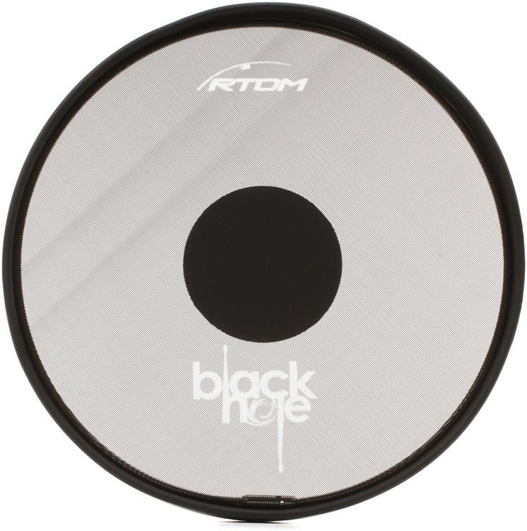 RTOM Black Hole Snap-on Mesh Practice Pad - 12