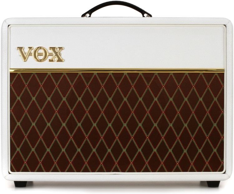 vox ac10c1 limited white bronco 10w 1x10 guitar combo amp sweetwater. Black Bedroom Furniture Sets. Home Design Ideas