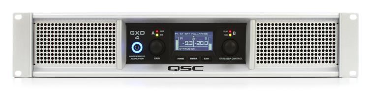 QSC GXD 4 Power Amplifier image 1