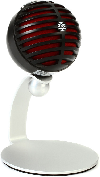 Shure MV5 Digital Condenser Microphone - Black image 1