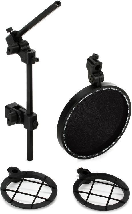 Sabra-Som SSM-POP Universal Shockmount and Pop FIlter Combo image 1