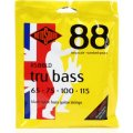 Rotosound RS88LD Tru Bass 88 Black Nylon Tapewound Long Scale Bass Strings