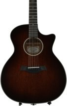 Taylor 524ce - Shaded Edgeburst, Mahogany back and sides