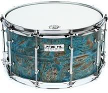 Pork Pie Percussion USA Custom Patina Drum -8