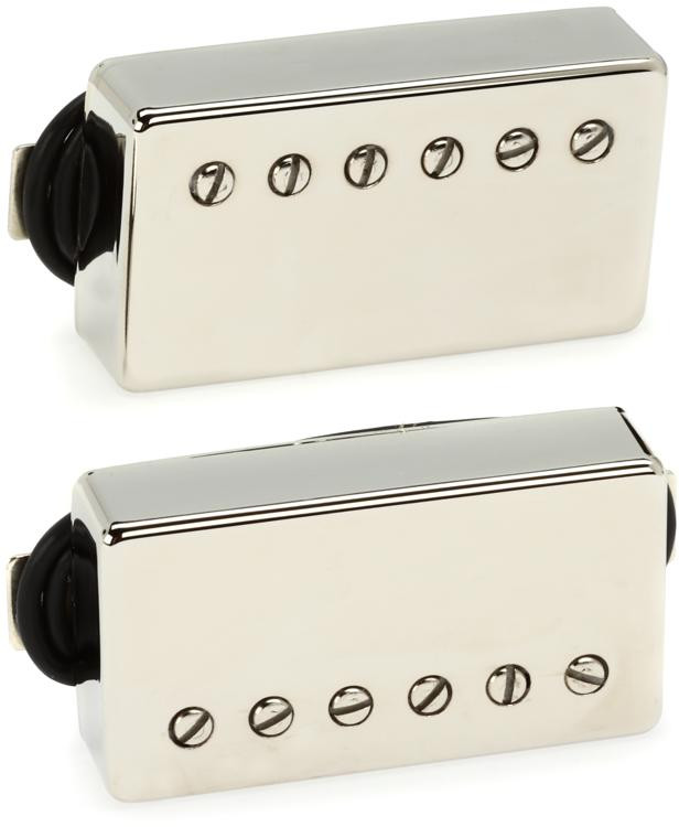 Seymour Duncan SH-18 Whole Lotta Humbucker Pickup - Nickel Set image 1