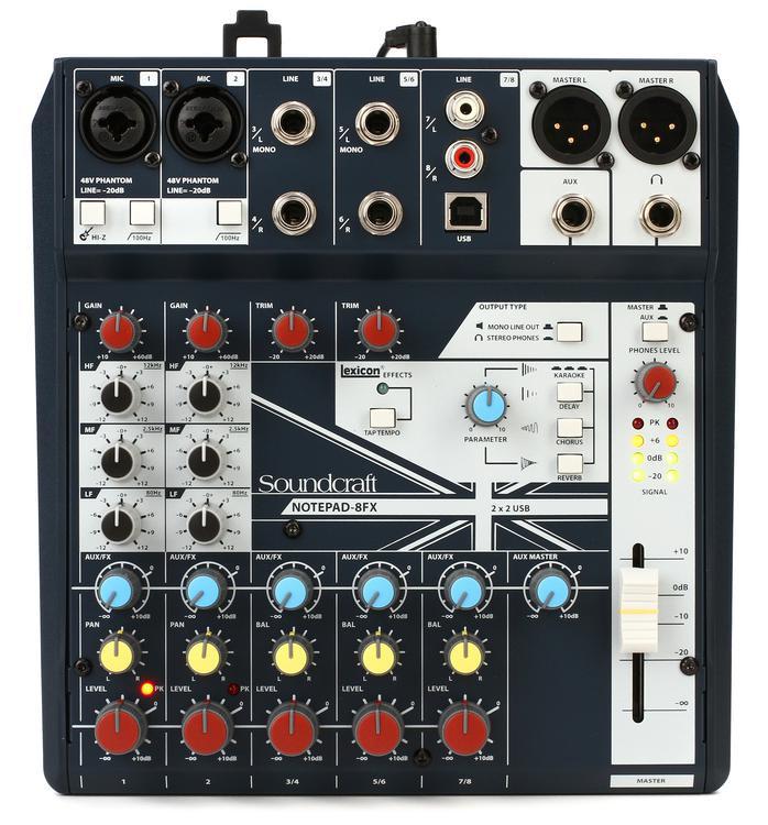 Soundcraft Notepad-8FX image 1