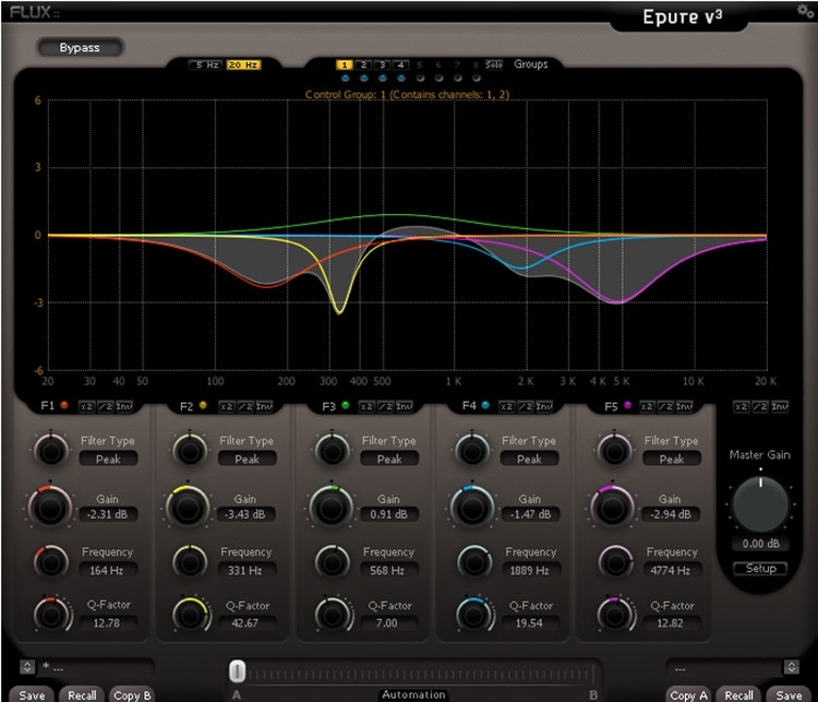 Flux:: Epure v3 Plug-in - AAX DSP/Native image 1