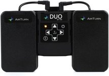 AirTurn Duo BT106 Transmitter with 2 Pedals