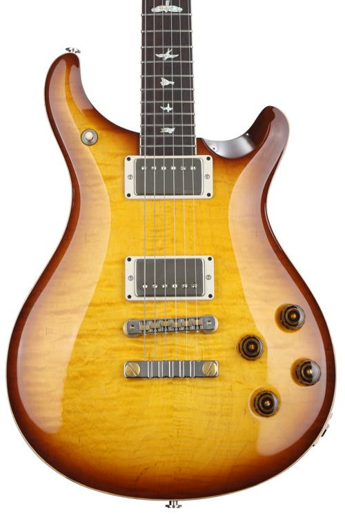 PRS McCarty 594 Figured Top - McCarty Tobacco Sunburst with Pattern Vintage Neck image 1