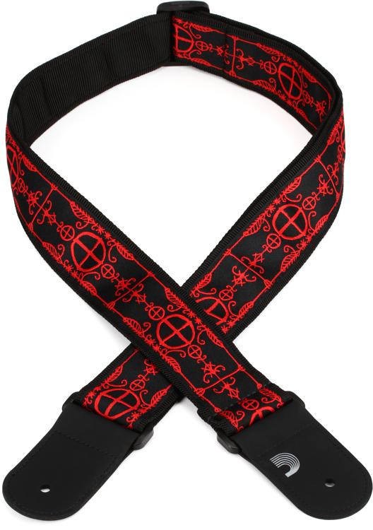 d 39 addario planet waves 50mm woven guitar strap voodoo sweetwater. Black Bedroom Furniture Sets. Home Design Ideas