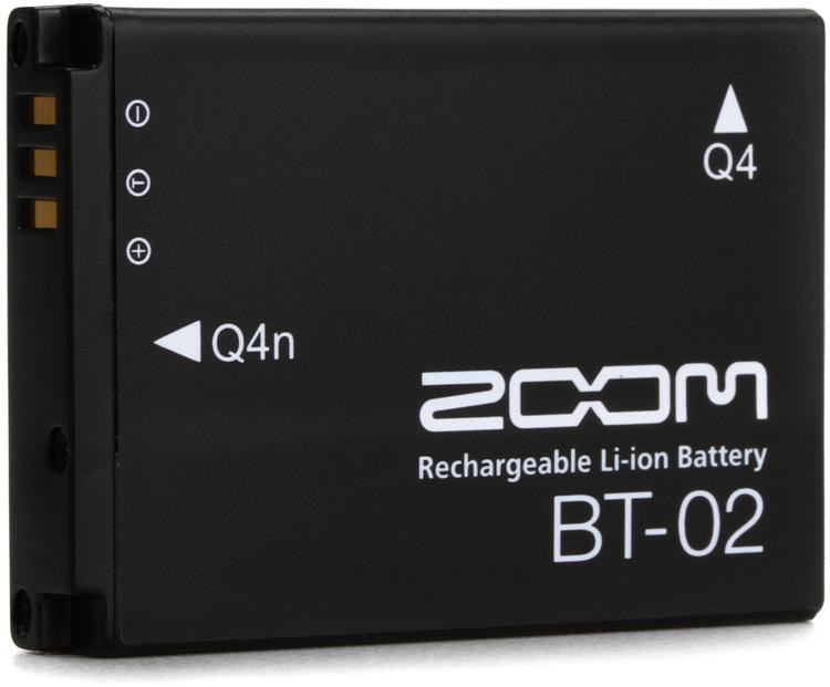 Zoom BT-02 Rechargable Battery for Q4 Recorder image 1