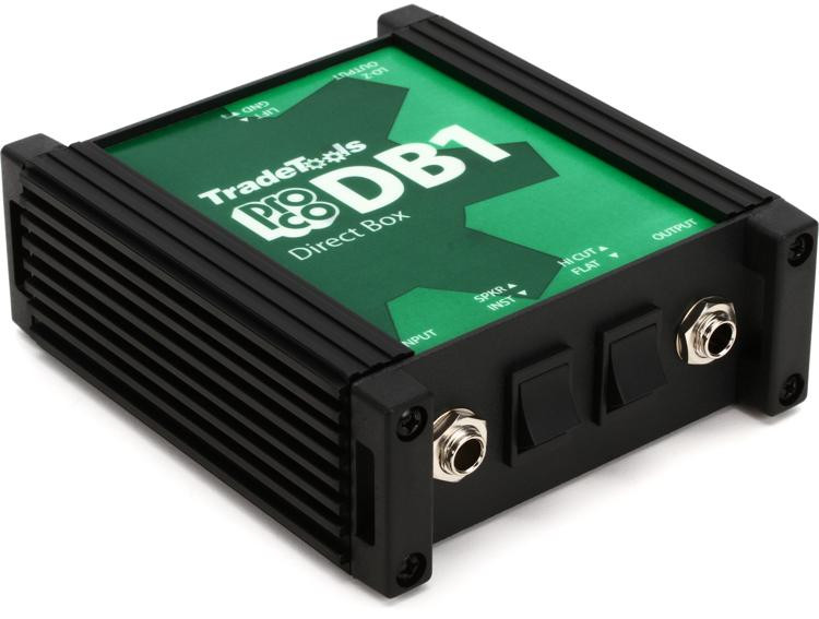 Pro Co DB1 1-channel Passive Instrument Direct Box image 1