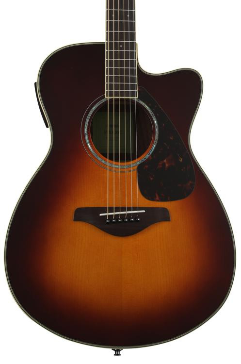 Yamaha FSX830C - Brown Sunburst image 1