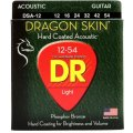DR Strings DSA-12 Dragon-Skin Phosphor Bronze Medium Coated Acoustic Strings