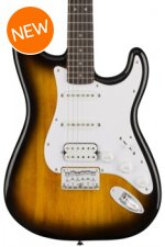 Squier Bullet Strat HSS HT - Brown Sunburst