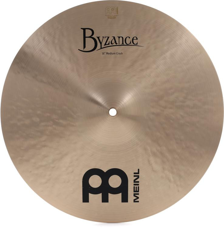 Meinl Cymbals Byzance Traditional Medium Crash - 16