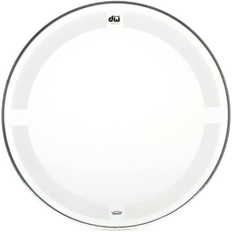 DW Coated/Clear Drumhead - 14