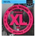 D'Addario EXL170-5 Nickel Wound Long Scale Light 5-String Bass Strings