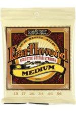 Ernie Ball PO2002 Earthwood 80/20 Bronze Medium Acoustic Strings