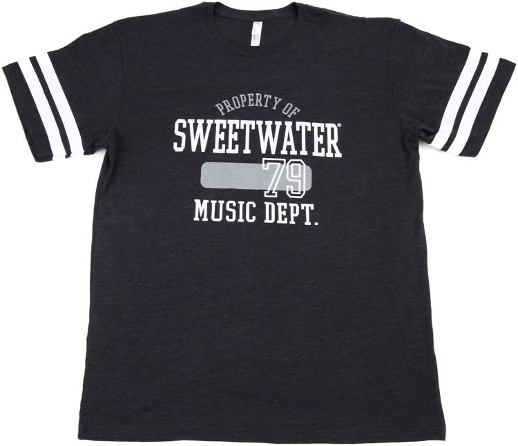 Sweetwater Vintage Navy/White Football Jersey T-shirt - Men\'s Medium image 1