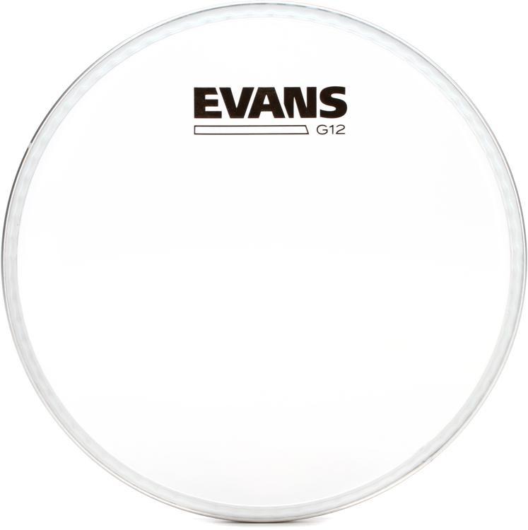 Evans G12 Clear 12 mil Drum Head - 8
